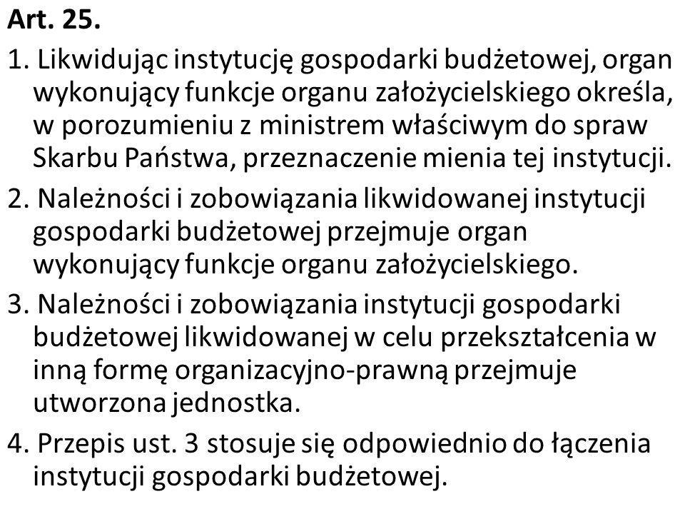 Art. 25. 1.