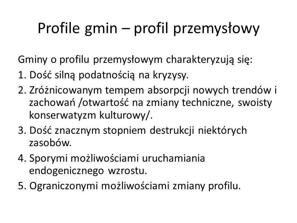 Profile gmin – profil przemysłowy