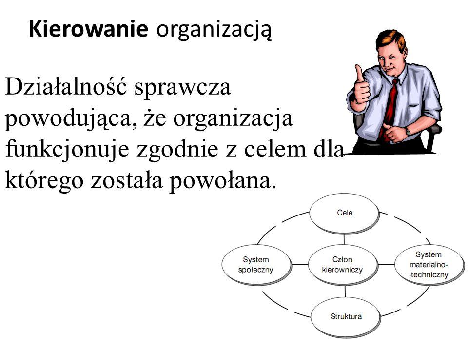 Kierowanie organizacją