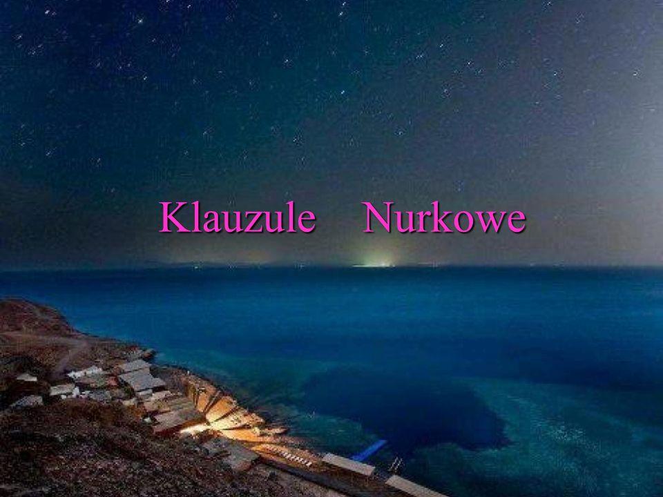 Klauzule Nurkowe