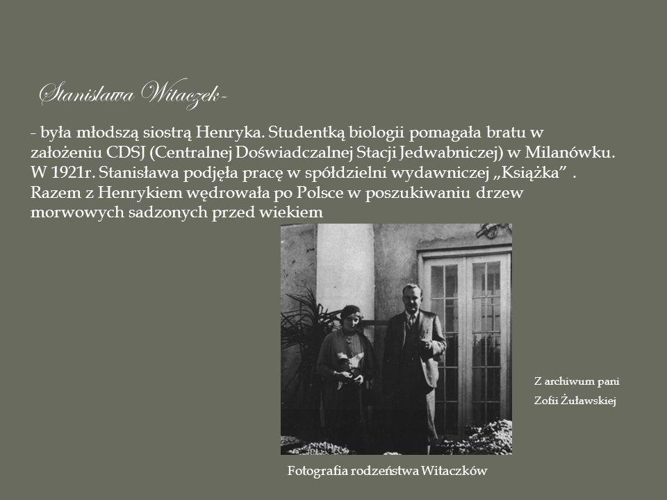 Stanislawa Witaczek-