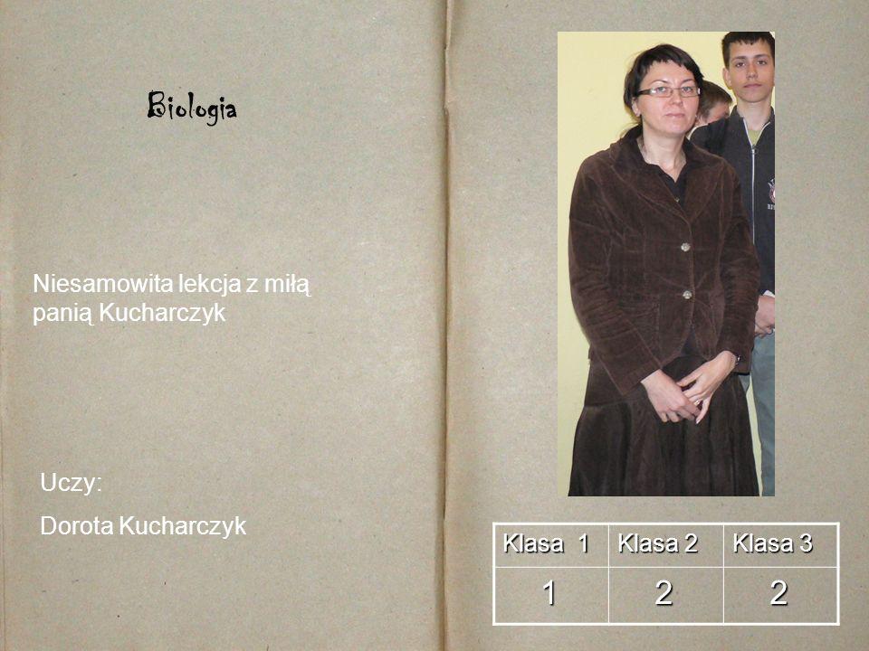 Biologia 1 2 Niesamowita lekcja z miłą panią Kucharczyk Uczy: