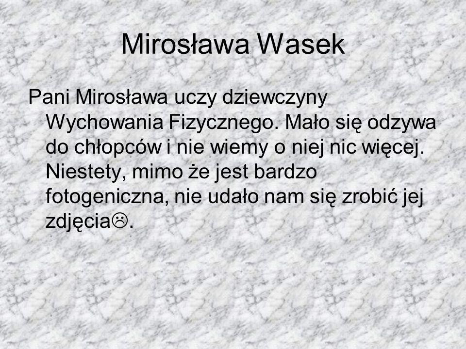 Mirosława Wasek