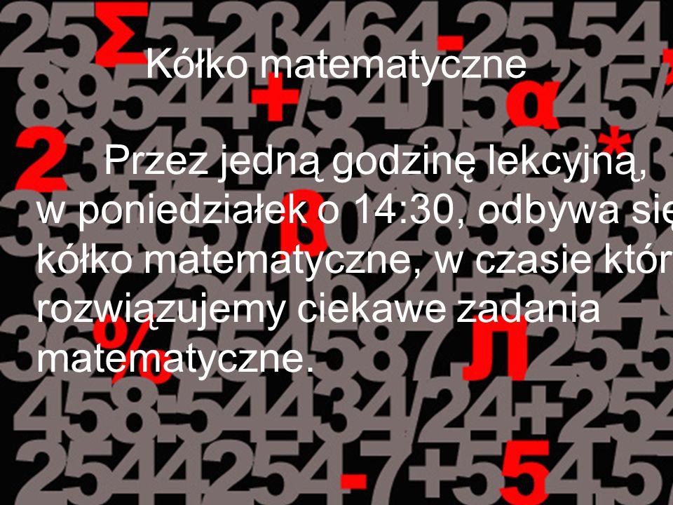 Kółko matematyczne