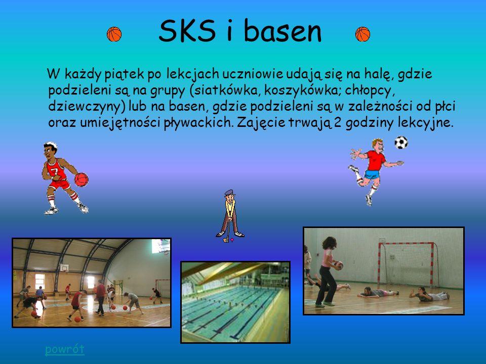 SKS i basen