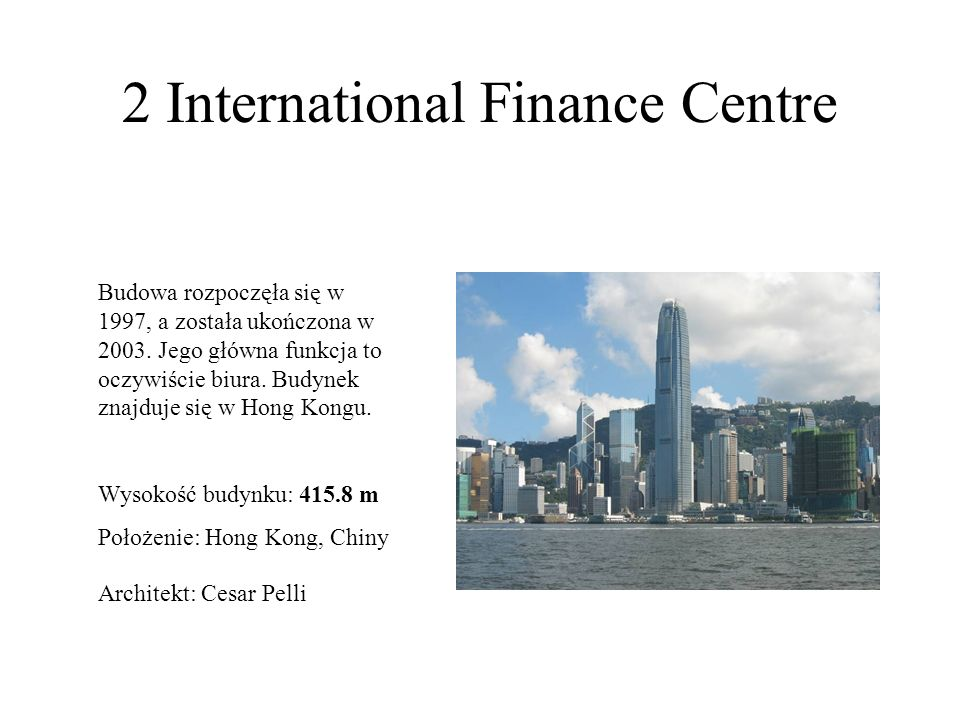 2 International Finance Centre