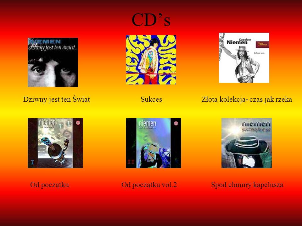 CD's Dziwny jest ten Świat Sukces Złota kolekcja- czas jak rzeka