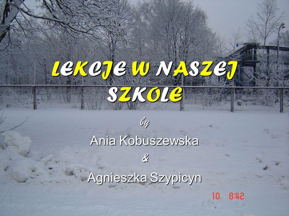 by Ania Kobuszewska & Agnieszka Szypicyn