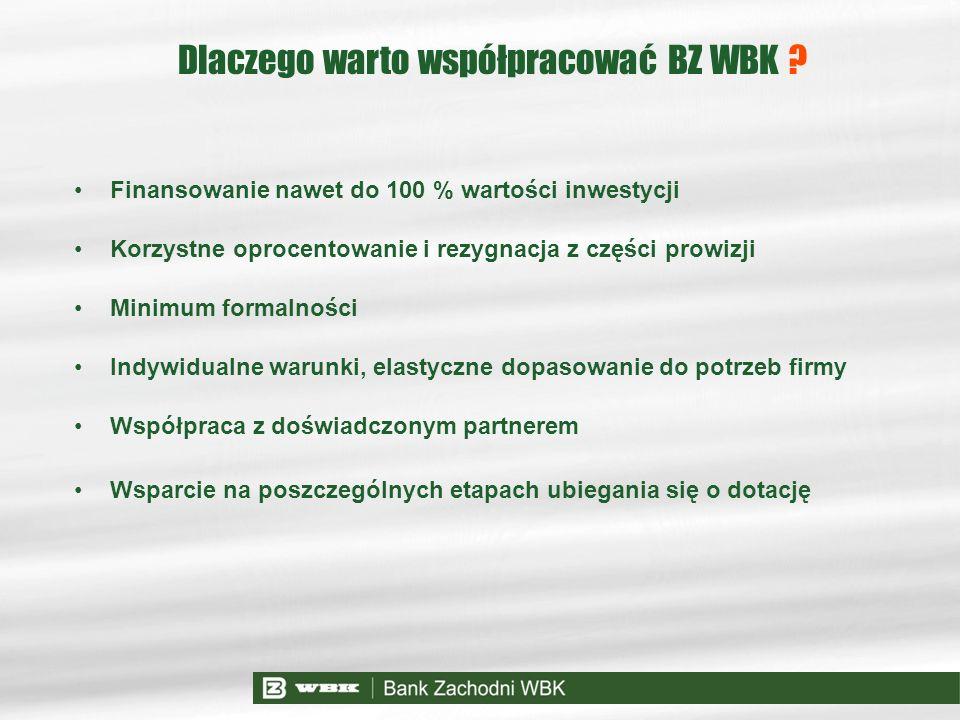 Dlaczego warto współpracować BZ WBK