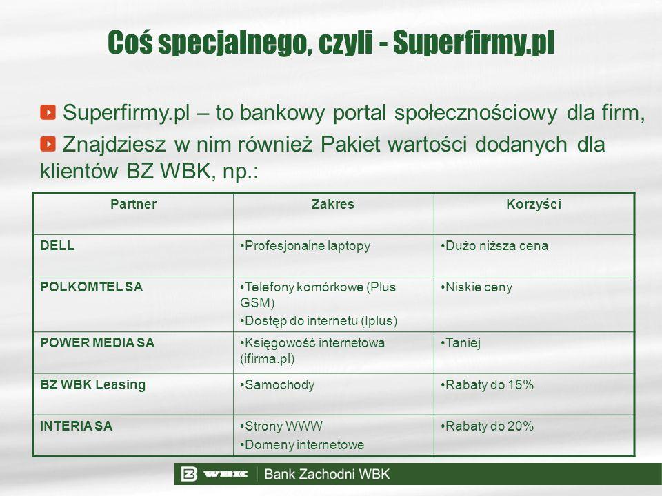 Coś specjalnego, czyli - Superfirmy.pl