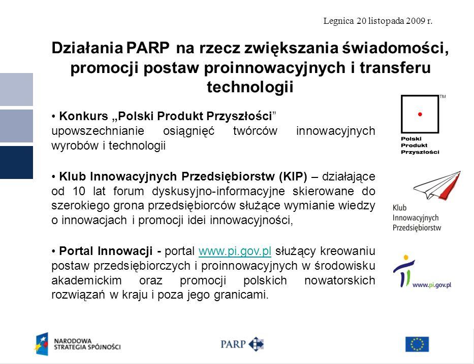 Działania PARP na rzecz zwiększania świadomości, promocji postaw proinnowacyjnych i transferu technologii