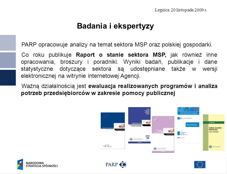 Badania i ekspertyzy PARP opracowuje analizy na temat sektora MSP oraz polskiej gospodarki.