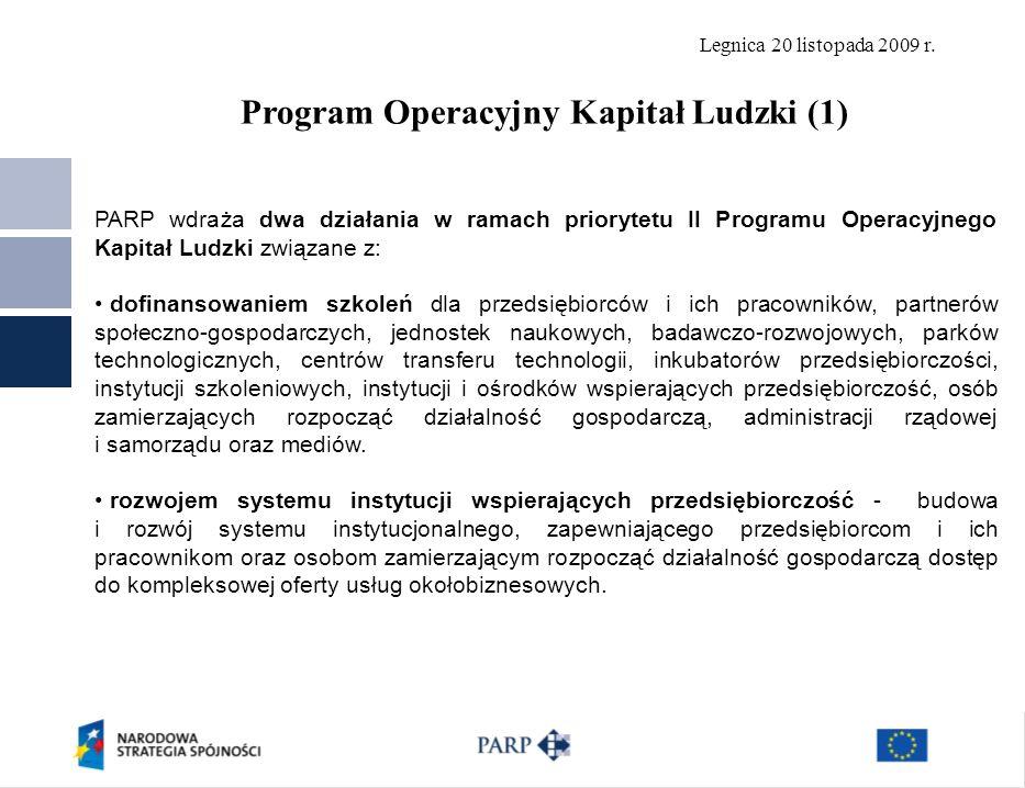 Program Operacyjny Kapitał Ludzki (1)