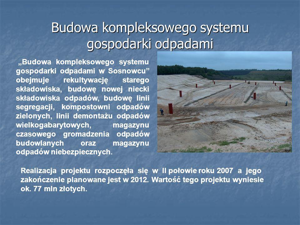 Budowa kompleksowego systemu gospodarki odpadami