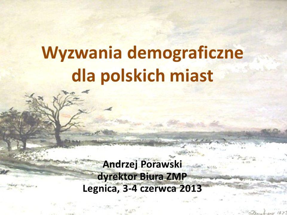 Wyzwania demograficzne dla polskich miast