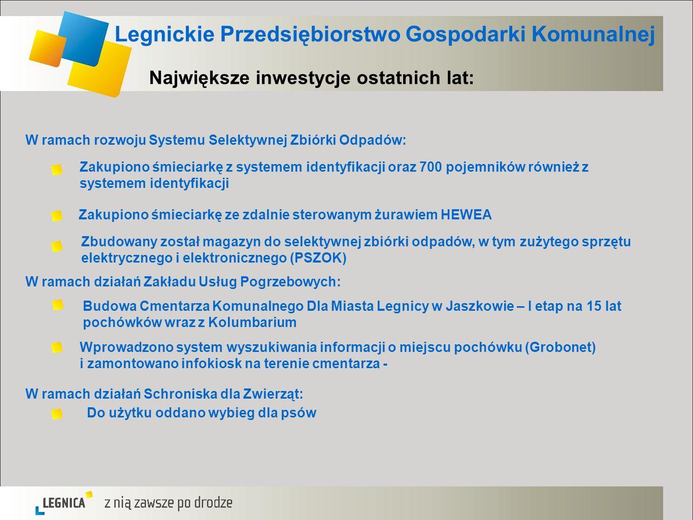 Legnickie Przedsiębiorstwo Gospodarki Komunalnej
