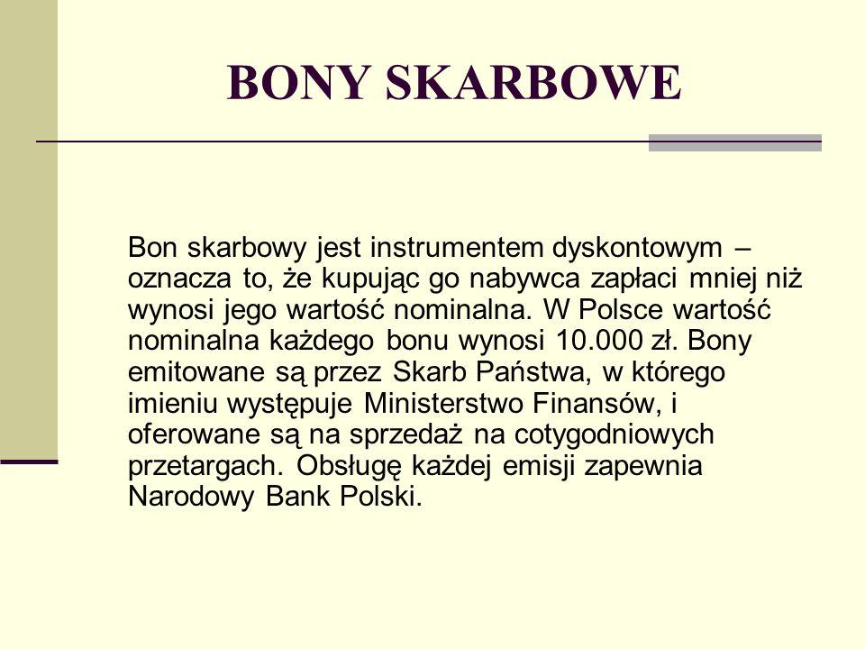 BONY SKARBOWE