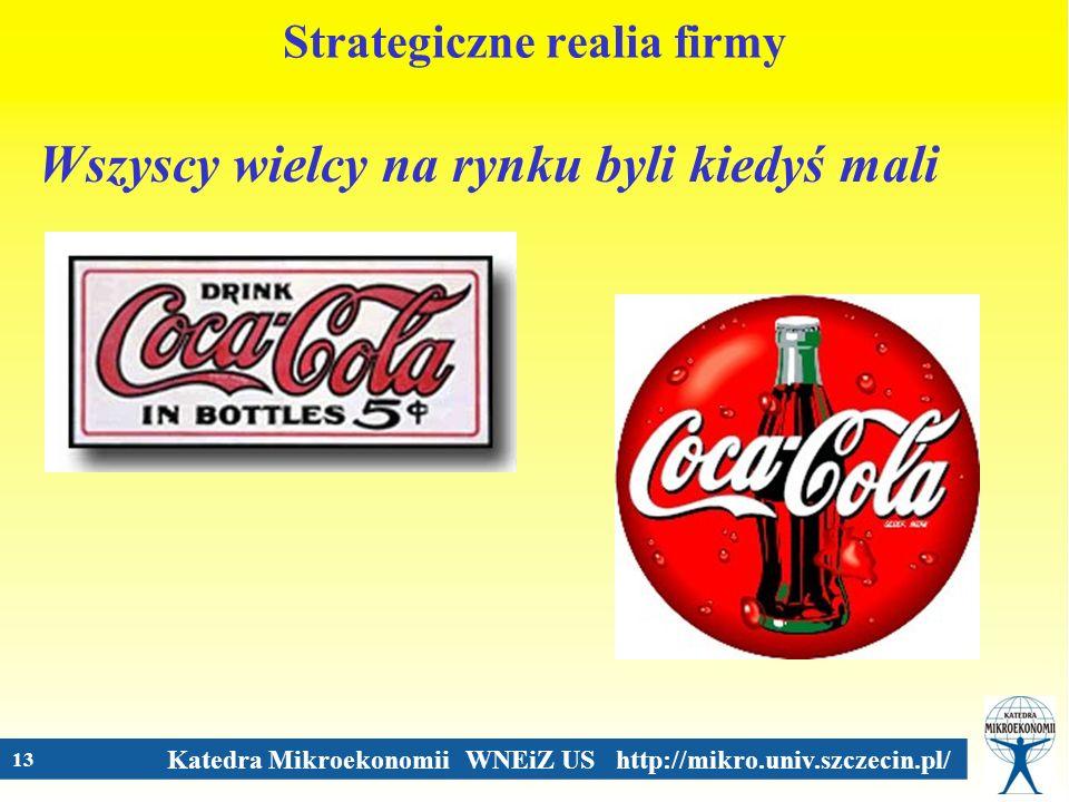 Strategiczne realia firmy
