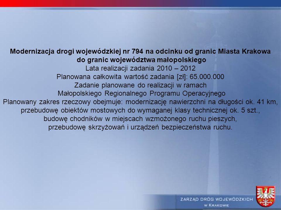 do granic województwa małopolskiego