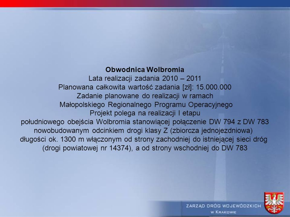Lata realizacji zadania 2010 – 2011