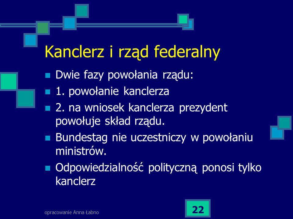 Kanclerz i rząd federalny
