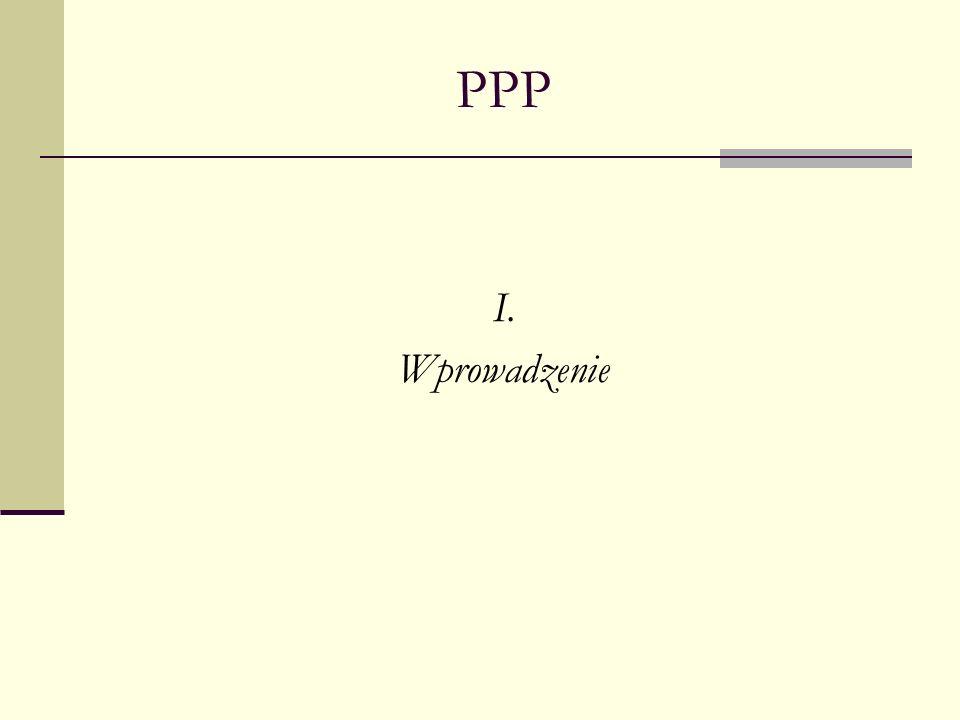 PPP I. Wprowadzenie