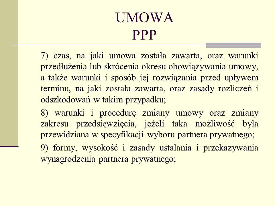 UMOWA PPP