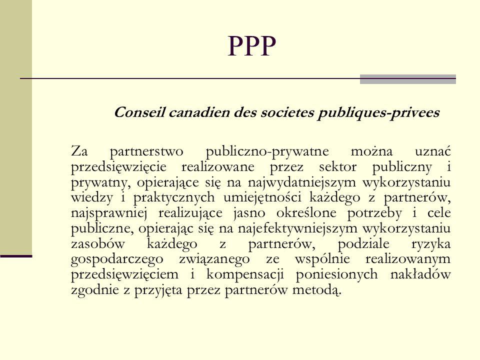 Conseil canadien des societes publiques-privees