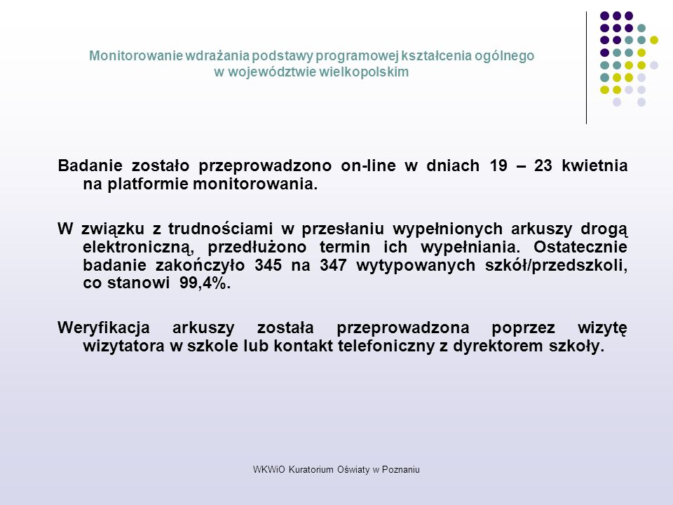 WKWiO Kuratorium Oświaty w Poznaniu