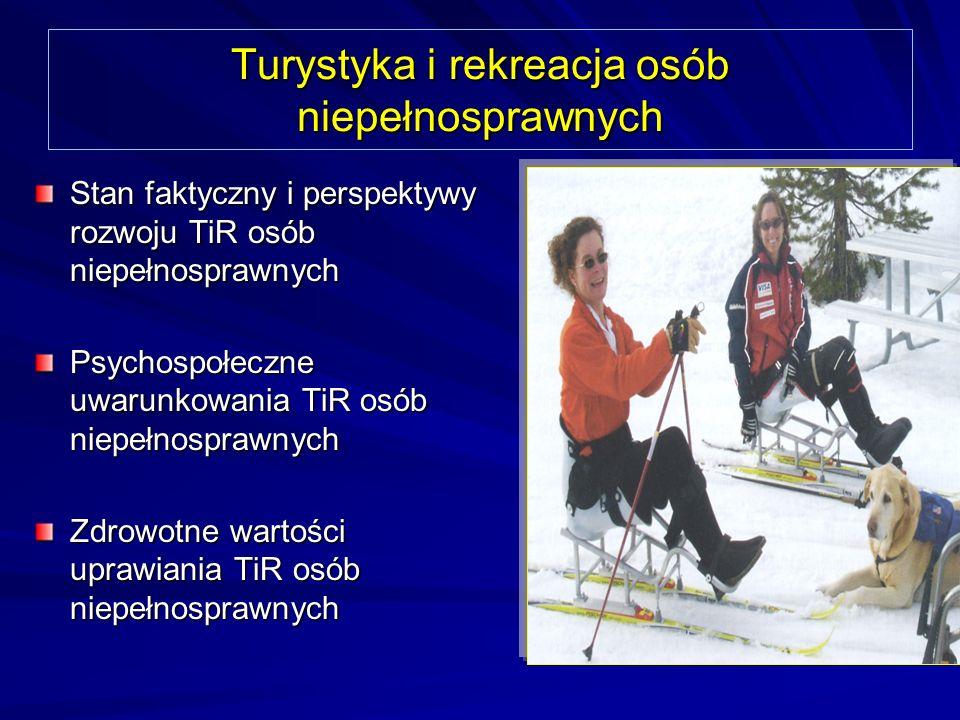 Turystyka i rekreacja osób niepełnosprawnych