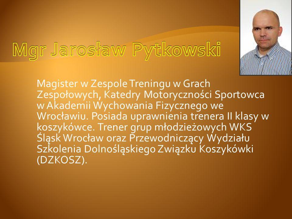 Mgr Jarosław Pytkowski