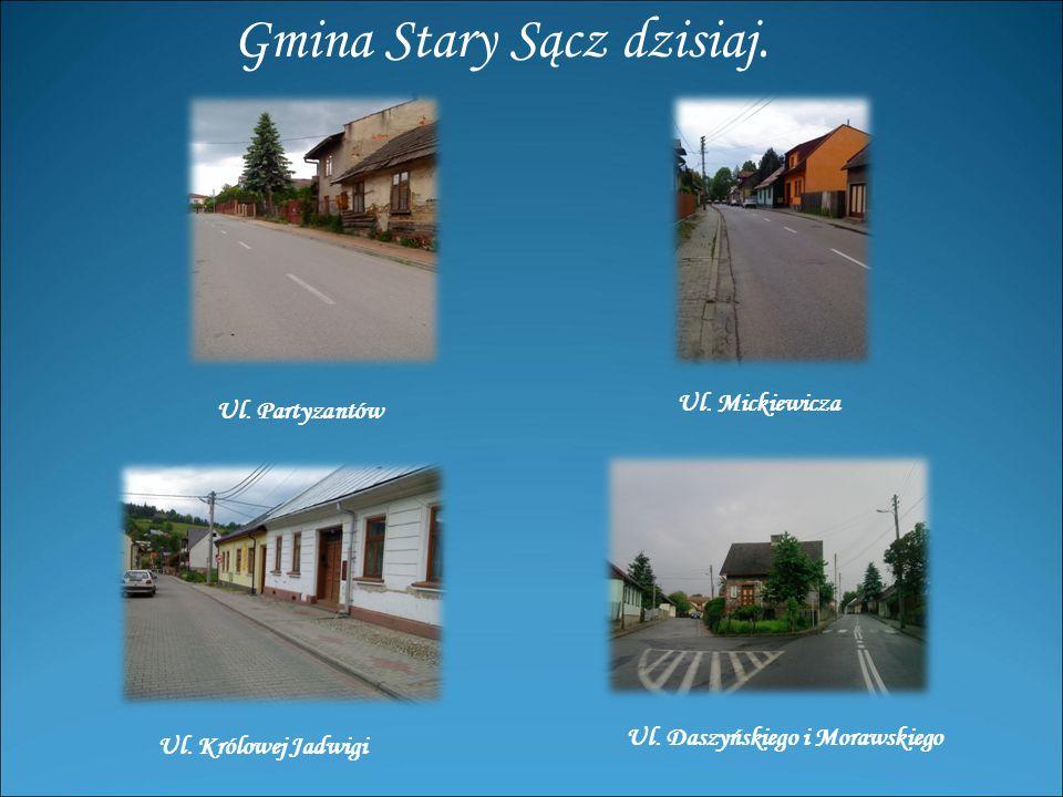 Gmina Stary Sącz dzisiaj.