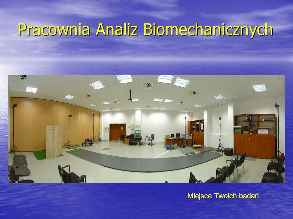 Pracownia Analiz Biomechanicznych