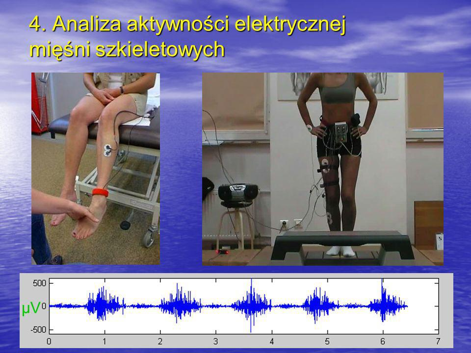 4. Analiza aktywności elektrycznej mięśni szkieletowych