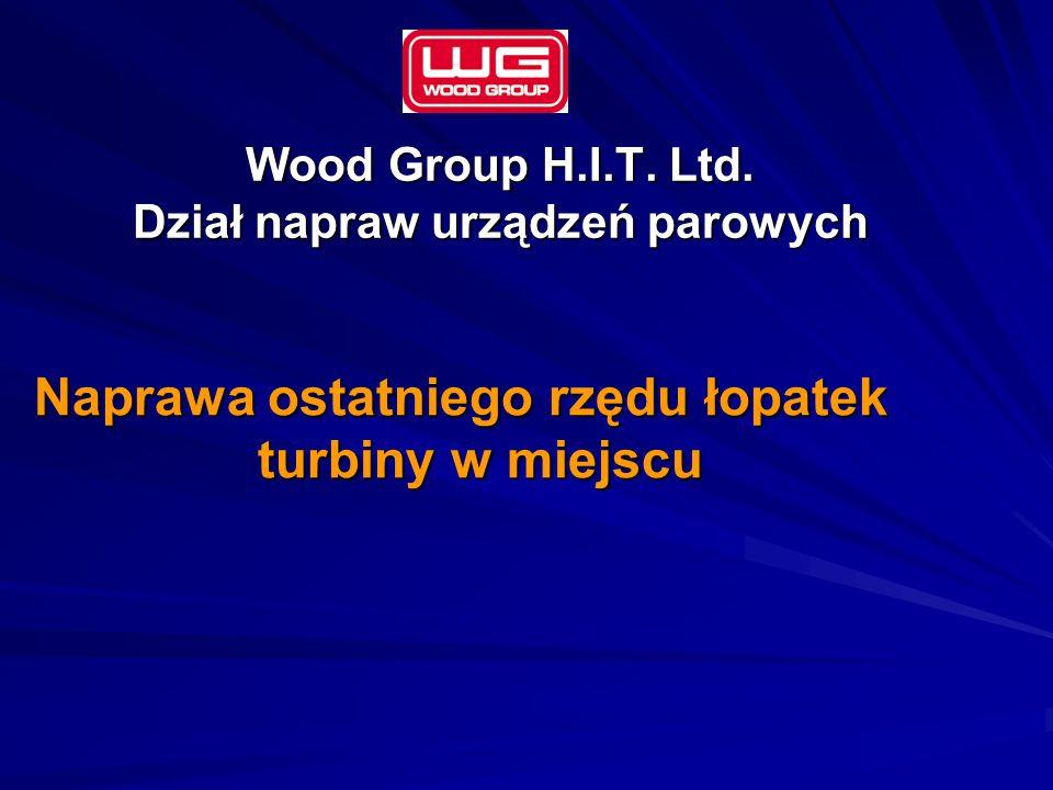 Wood Group H.I.T. Ltd. Dział napraw urządzeń parowych