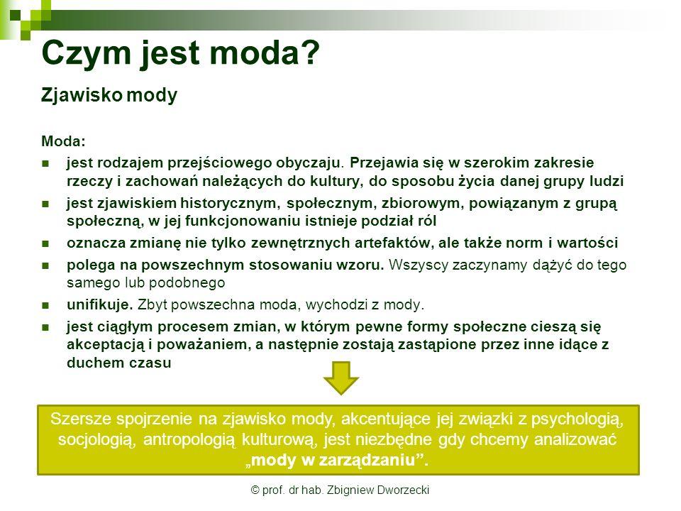 © prof. dr hab. Zbigniew Dworzecki