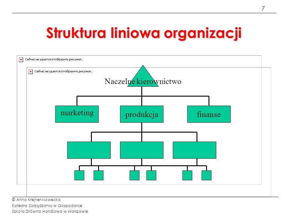 Struktura liniowa organizacji
