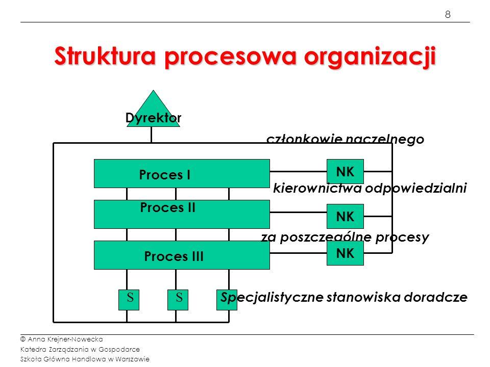 Struktura procesowa organizacji