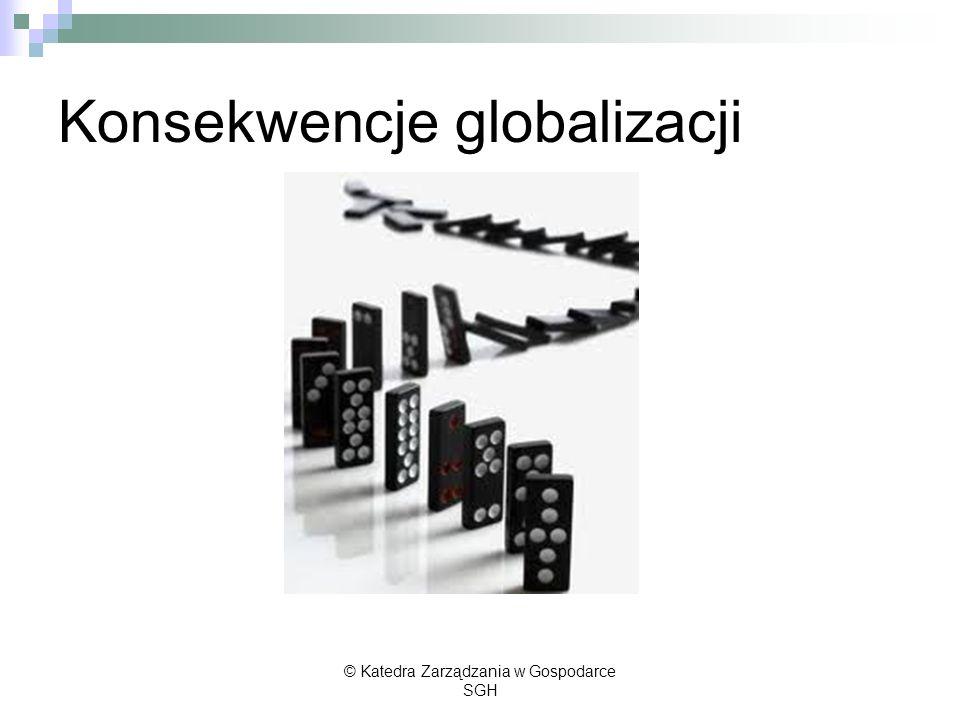 Konsekwencje globalizacji