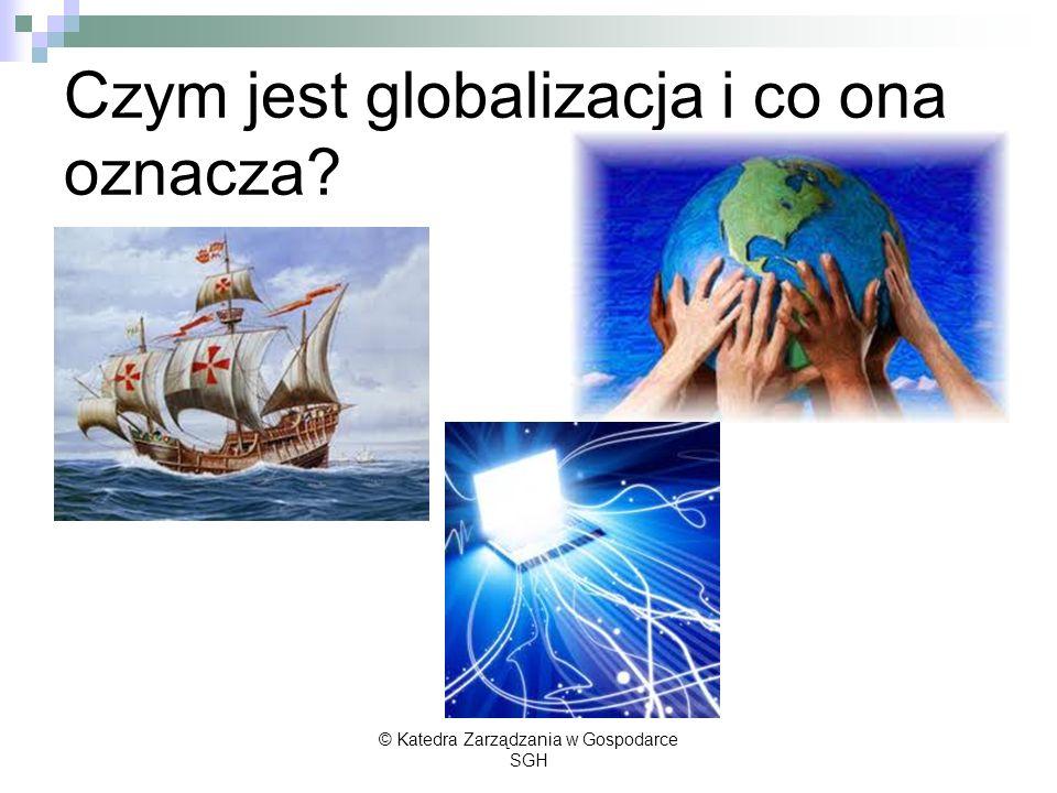 Czym jest globalizacja i co ona oznacza