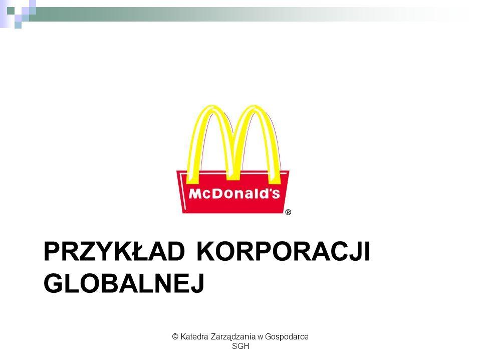 Przykład korporacji Globalnej