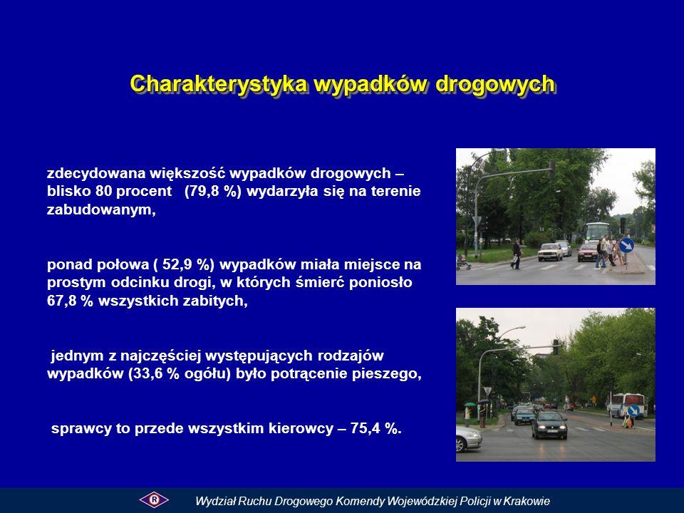 Charakterystyka wypadków drogowych