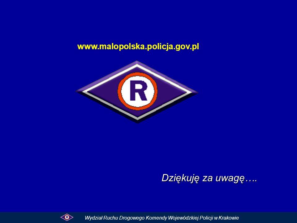 Dziękuję za uwagę…. www.malopolska.policja.gov.pl