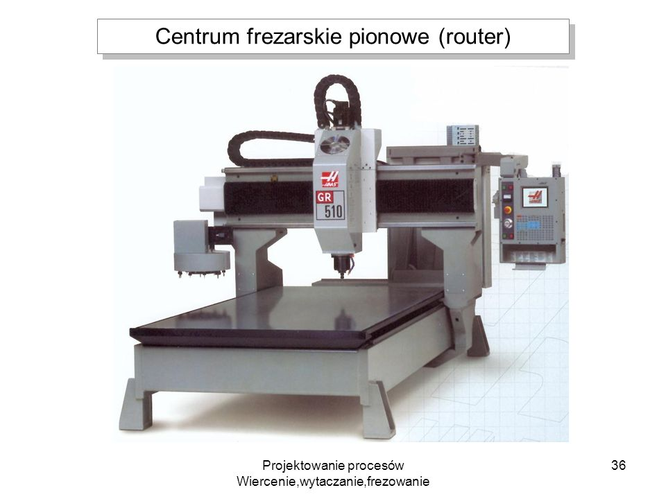 Centrum frezarskie pionowe (router)