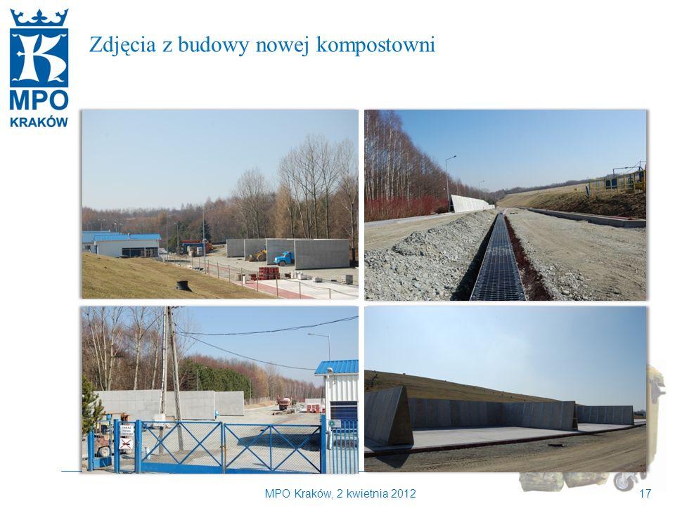 Kilka słów o MPO Kraków Zdjęcia z budowy nowej kompostowni