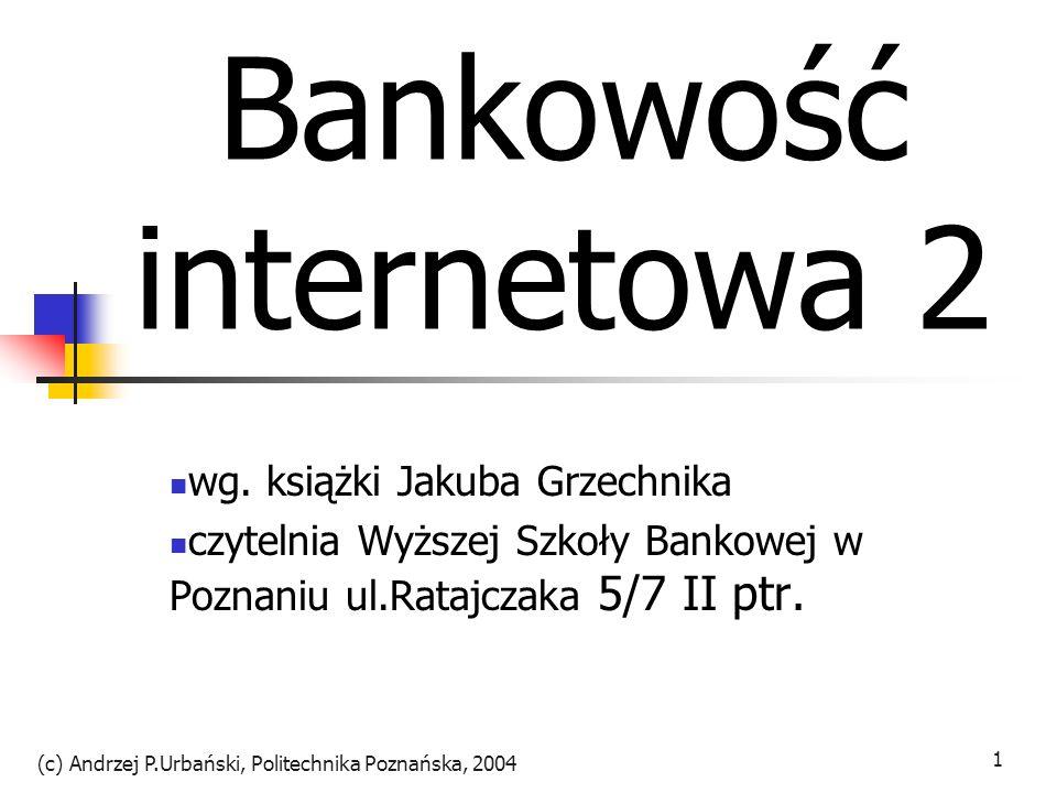 Bankowość internetowa 2