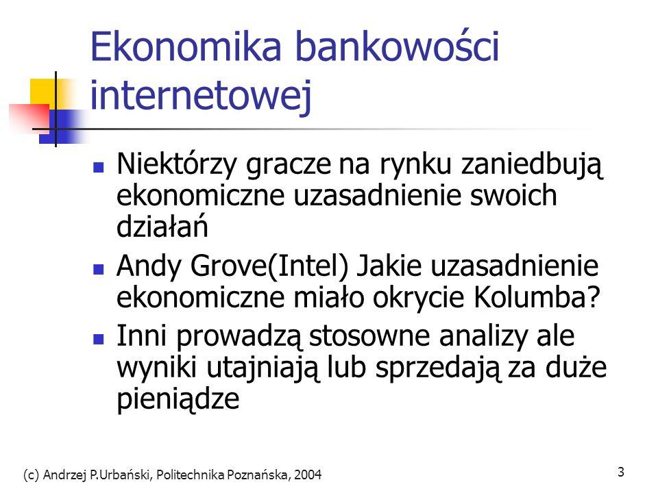 Ekonomika bankowości internetowej