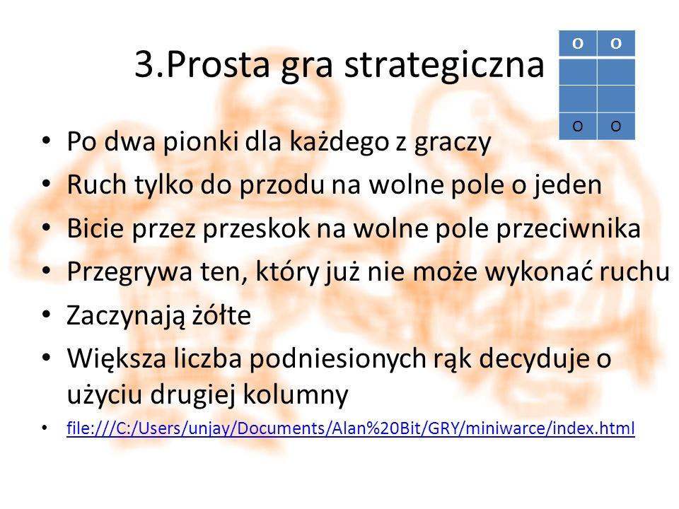 3.Prosta gra strategiczna