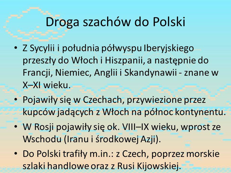 Droga szachów do Polski