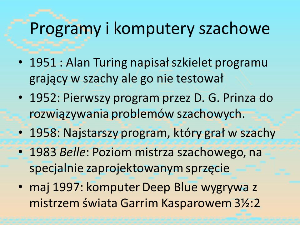 Programy i komputery szachowe